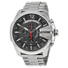 Diesel Chief Chronograph Black Dial Stainless Steel Mens Watch DZ4308