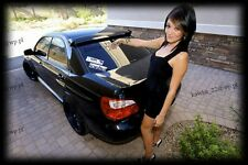 Subaru Impreza WRX STI Saloon Sedan GD MKII 2000-2007 STI Look Rear Roof Spoiler