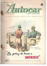 revue automobile: the Autocar: february 8 1948
