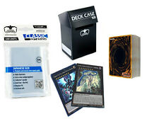 *50* YuGiOh! Cards Pack with XYZ + Rares + Holos + Deck Box + Sleeves