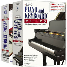 Emedia Piano & Keyboard Method DELUXE for WIN (DOWNLOAD) - 450 + Piano Lessons
