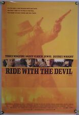 RIDE WITH THE DEVIL DS ROLLED ORIG 1SH MOVIE POSTER TOBEY MAGUIRE ANG LEE (1999)