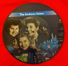The Andrews Sisters - Vinyl LP - Picturedisc - Collector - Denmark 1984 - Rare