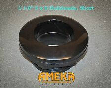 "4x) 1.5"" Slip Bulkhead Fitting, Silicon Washer, Short Stem, High Quality, CPR"