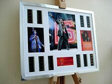 MICHAEL JACKSON THIS IS IT  XL FRAMED 35MM FILM CELL MOVIE DISPLAY
