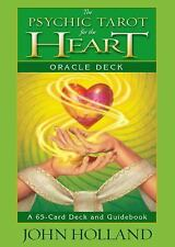 The Psychic Tarot for the Heart Oracle Deck: A 65-Card Deck and Guidebook by Joh