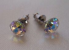HYPOALLERGENIC Stud Earrings Lead free Nickel free Crystal Earrings 7 mm