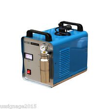 H180 95L Portable Oxygen Hydrogen Water Welder Flame Acrylic Polisher 2 Torches