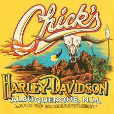 Harley Davidson Men's Medium Albuquerque New Mexico Land Enchantment T Shirt