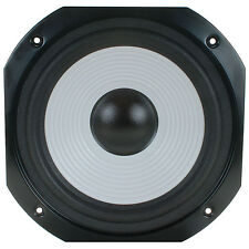 """NEW 10"""" Woofer Replacement Speaker.8 ohm.Square Frame Home Audio.Bass Ten inch"""