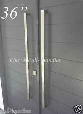 "36"" Door Hardware Pull Handles Bar Pulls Entry Store front Brushed Satin Nickel"