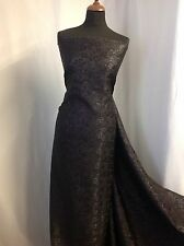 Italian Silky BROCADE GORGEOUS JACQUARD LUREX Fabric Dress Film Costume Art NEW