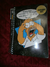 THE SIMPSON STATIONERY SET NEW