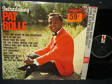 Introducing Pat Rolle LP in SHRINK