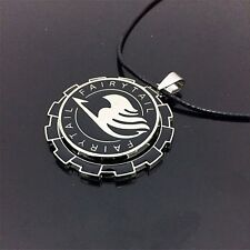 """Anime Fairy Tail Guild Logo Metal 2"""" Pendant Necklace Chain Loose Pack Cosplay"""