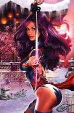 Greg Horn SIGNED Marvel Comic X-Men Super Hero Art Print ~ Psylocke
