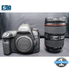 Canon EOS 5D Mark IV DSLR Camera with EF 24-105mm f/4L II Lens Kit (from Jessops