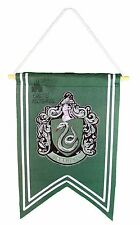 Wizarding World of Harry Potter Slytherin House Banner  with Embroidered Crest