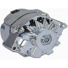 Chevrolet GM Chrome 100 AMP High Out Put Alternator One Wire SBC BBC Universal