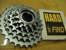SUNTOUR WINNER  .SCREW-ON BLOCK 6sp FREEWHEEL 13-32t nos+used + NIB chain