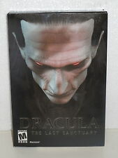 Dracula The Last Sanctuary Macintosh MAC Computer Game Brand New in Box (2002)