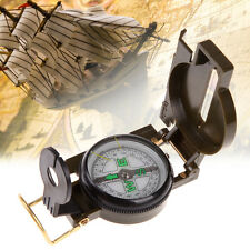 Portable Outdoor Folding Lens Compass American Military Style Multifunction