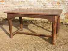 Late 17th Century French Antique Oak Refectory Table Farmhouse Table Small Size