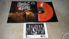 CROWN THE EMPIRE - The Fallout SIGNED RED / ORANGE LP Lim.500 PIERCE THE VEIL