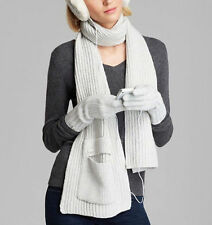 $125 NEW UGG Knit Pocket Scarf