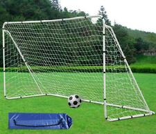 Large Soccer Goal Net US 12' x 6' Strong Straps Anchor Goals Sports