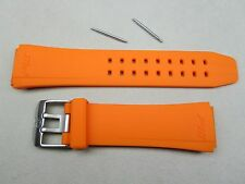 Genuine Luminox 22mm F-16 Fighting Falcon watch band strap orange 9100 9105 9129