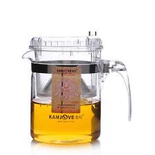 300ml Kamjove TP-140 Press Art Clear Glass Teapot Gongfu Tea Pot