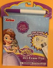 Disney Sofia The First Dri-Erase Fun New Activities and Games