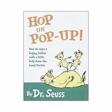 Hop on Pop-Up, How to Raise Happy Father Dr Seuss Hardcover Very Good Pocket Siz