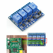 5V Four 4 Channel Relay Module With optocoupler For PIC AVR DSP ARM Arduino GH