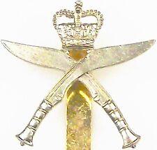 THE GURKHA RIFLES REGIMENT CLASSIC GENUINE REGIMENTAL LICENSED CAP BADGE