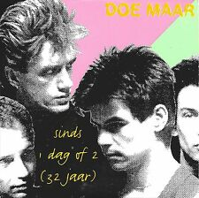 Doe Maar  ‎– Sinds 1 Dag Of 2 (32 Jaar)    cd single in cardboard