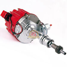 SBF Ford Small Block 260 289 302 HEI Ignition Red Cap Distributor w/ 65K Coil