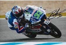 Enea Bastianini Hand Signed 12x8 Photo Gresini Honda Moto3 2016 MOTOGP 7.