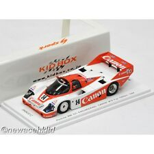 PORSCHE 956 GTI ENGINEERING CANON #14 FUJI 1000 KM 1984 SPARK MODEL 1/43