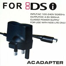 CE 3PIN Wall Charger UK Adapter UK Plug For Nintendo DSi NDSi DSiXL XL DSi 3DS