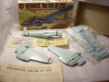 1/72 HEINKEL HE-111 H-20 AIRFIX england model kit set german bomber WWII plane