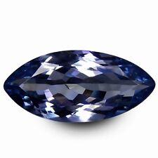 HKD CERTIFIED TANZANITE : 2,03 Ct Natürlicher Tansanit Blau Violett Augenrein