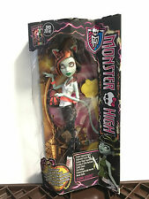MONSTER High scarah Screams Freaky Fusion BAMBOLA DA COLLEZIONE RARO