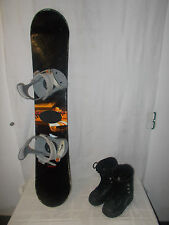 "CONTACT "" DSIX "" TOP JUNIOR SNOWBOARD 135 CM + ROSSIGNOL BOOTS GR. 39 IM SET"