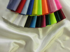 1 METRE OF 1ST QUALITY WHITE FAUX SILK FABRIC
