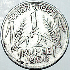 Republic of india 1/2 rupee coin very rare - 5.73gm