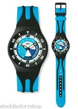 "Swiss Made Swatch Watch Mens Scuba Professional Diver ""DOLPHIN WHISTLE""- SUGB102"