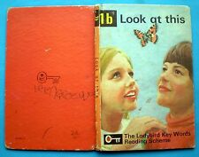 Look At This vintage Ladybird book 1b Key Words Reading Scheme learning 24p net