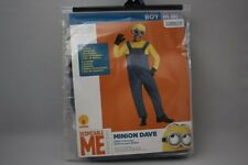 DESPICABLE ME 2 MINION DAVE DELUXE HALLOWEEN COSTUME CHILD SZ 8 MEDIUM BOYS NWT